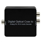 AC3/DTS/Dolby Toslink Coaxial Digital to Analog Audio L/R Decoder + 3.5mm Earphone