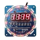 Rotating LED Display Electronic Clock Module - Blue