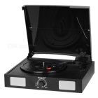 Shenle USB Electric Phonograph w/ Built-in Dual Stereo Speaker, RCA Output