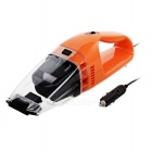 Portable Car Dust Collector / Vacuum Cleaner - Orange + Black