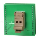 Gold Plated SOT23-6L Programmer Adapter Socket - Green + Black + Multi-Color