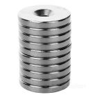 Buy D20 x 3mm Round NdFeB Magnets & without Hole - Silver (10pcs)