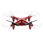 Syma X13 2.4GHz 4-CH 6-Axis Gyroscope R/C Remote Control Aircraft Quadcopter w/ 360' Tumble - Red