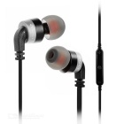 AWEI A960BL Smart Bluetooth V4.0 In-Ear Earphone w/ Mic - Silver