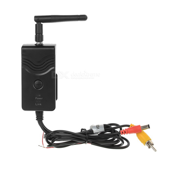 BNC / RCA / AV Wi-Fi Video Transmitter - Black (DC 9~30V)