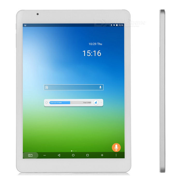 "Teclast 9.7"" Android Tablet PC w / 2GB RAM, 32 GB ROM - wit + zilver"