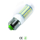 E27 12W 3000K 1200lm 69-SMD 5730 bulbo branco morno (220 ~ 240V / 5PCS)