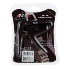 AROMA AC-01 Metallic Capo for Folk Guitar / Electric Guitar - Black