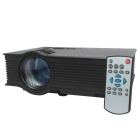 UC40 55WHD Mini Home LED Projector w/ HDMI / AV / SD / USB / Remote Control-Black