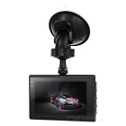 "Car HD 12MP DVR w/ 3"", 4X Optical Zoom, IR Night Vision, HDMI - Black"