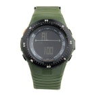 SYNOKE 67836 Unisex Fashion Multifunction Waterproof Sports LED Digital Watch w/ Hourly Chime + More