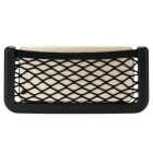 Universal Auto Car Seat Side Back Elastic Mesh Storage Bag for IPHONE 6 / 6S / 6PLUS - Black