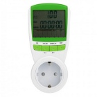 Power Energy Meter 230V 50Hz LCD Digital Display Wattage Voltage Current Frequency Monitor Analyzer