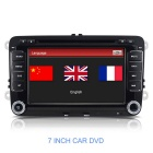 "7"" Capacitive Touchscreen Win CE 6.0 Car DVD Player w/ GPS / BT / Radio / USB for VW Volkswagen"