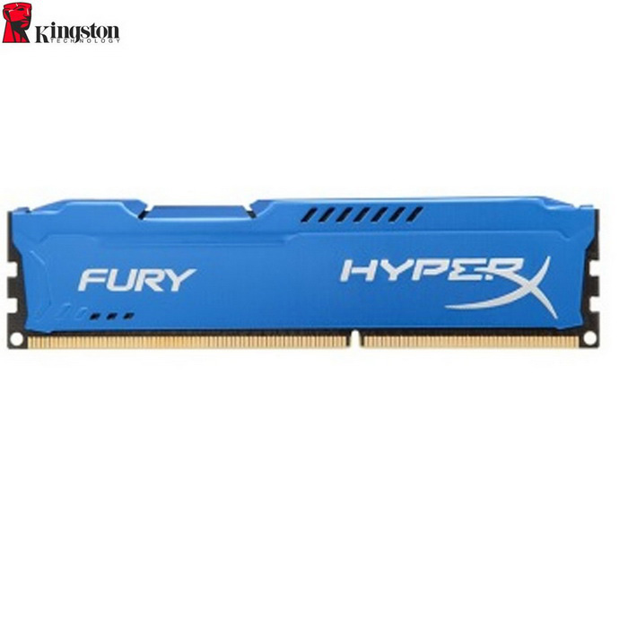 Kingston HyperX FURY 4GB 1600MHz DDR3 CL10 DIMM - Blue