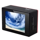 "2.0"" HD 1080P 16MP 4K Wi-Fi Waterproof Sports Camera Camcorder - Red"