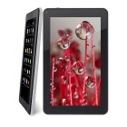 "ARM Cortex-A7 1.3GHz Android 4.4 Quad-Core 9"" Tablet PC w/ 8GB ROM, Dual Camera, Wi-Fi, OTG - White"