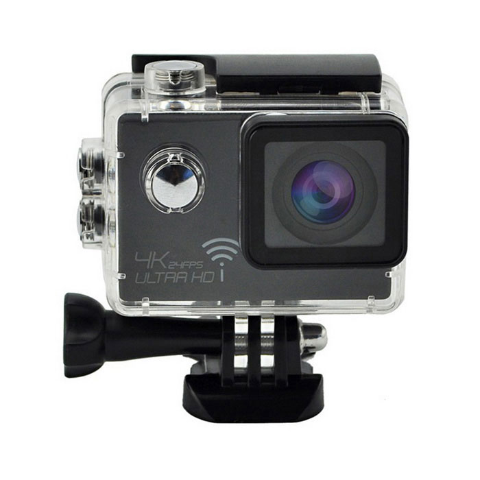 2.0 HD 1080P 16MP 4K Wi-Fi Waterproof Sports Camera Camcorder - BlackSport Cameras<br>Form  ColorBlackModelSJ8000Shade Of ColorBlackMaterialABSQuantity1 DX.PCM.Model.AttributeModel.UnitImage SensorCMOSAnti-ShakeYesFocal DistanceN/A DX.PCM.Model.AttributeModel.UnitFocusing RangeN/AOptical ZoomOthers,Built-in SpeedliteNoWide Angle170 degree A+ grade wide angleEffective Pixels16.0MPImagesJPGStill Image Resolution16M 4608x3456<br>14M 4320x3240<br>12M 4032x3024<br>10M 3468x2736<br>8M 3264x2448<br>5M 2592x1944<br>3M 2048x1536<br>VGA 640x480VideoOthers,MP4Video Resolution4k(3840 x 2160)24FPS       2K(2560 x 1440)30FPS     1920 x 1080 60fps<br>1280 x 720 60fpsVideo Frame Rate30,60,Others,24Audio SystemStereoCycle RecordYesISOOthers,100/200/400Exposure CompensationOthers,-2.0:;-5/3;-4/3;-1.0;-2/3;-1/3;+0.0;+1/3;+2/3;+1.0;+4/3;+5/3;+2.0Scene ModeAutoWhite Balance ModeOthers,Auto,Daylight,Cloudy,Tungsten,FluorescentSupports Card TypeTFSupports Max. Capacity32 DX.PCM.Model.AttributeModel.UnitBuilt-in Memory / RAMNoInput InterfaceMicOutput InterfaceMicro USB,Mini HDMILCD ScreenYesScreen TypeOthers,LTPS LCDScreen Size2.0 DX.PCM.Model.AttributeModel.UnitBattery Measured Capacity 900 DX.PCM.Model.AttributeModel.UnitNominal Capacity900 DX.PCM.Model.AttributeModel.UnitBattery TypeLi-ion batteryBattery included or notYesVoltage3.7 DX.PCM.Model.AttributeModel.UnitBattery Charging Time3HoursLow Battery AlertsYesWater ResistantWater Resistant 3 ATM or 30 m. Suitable for everyday use. Splash/rain resistant. Not suitable for showering, bathing, swimming, snorkelling, water related work and fishing.Supported LanguagesEnglish,Simplified Chinese,Traditional Chinese,Russian,Portuguese,Spanish,Italian,French,German,Others,JapanesePacking List1 x Sports camera1 x Waterproof Housing1 x Quick Release Buckle1 x Housing Backdoor with Holes1 x Handlebar Seatpost Pole Mount1 x Curved Adhesive Mount1 x Flat Adhesive Mount1 x 3-Way Pivot Arm Mount1 x Frame Mount1 x Quick Release Clip for The Frame1 x Vertical Quick Release J-Hook Buckle1 x Universal 1/4 Camera Tripod Mount1 x Tripod Mount Adapter1 x Bandage Set1 x Stainless Steel Safety Tether4 x Nylon Cable Ties1 x Cleaning Cloth(Color randomly send)1 x USB Cable(80cm)1 x 900mAh Li-ion Battery1 X Chinese /English User Manual<br>