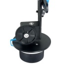 YELANGU 15mm Rail Rod Stand-Alone Follow Focus for Camera Camcorders