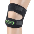Basecamp Shake Reducing Cycling Silicone Kneecap - Black (L)