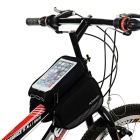 ROSWHEEL 2.8L Reflective Bike Bag w/ Touch Screen for Phone - Black