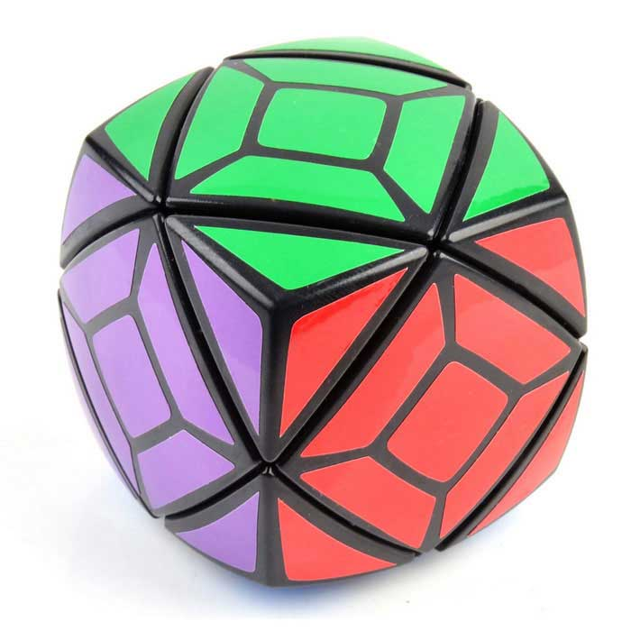 Irregular Skewb Magic IQ Cube - Black