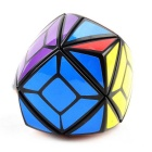 Irregular skewb magia cubo IQ - verde + multi-color