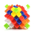 Brain Teaser 3D Puzzle Magic Cube Kong Ming IQ Lock - Multicolored