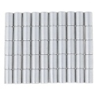 6*10mm Strong Small Size Columniform NdFeB Magnets - Silver (50PCS)