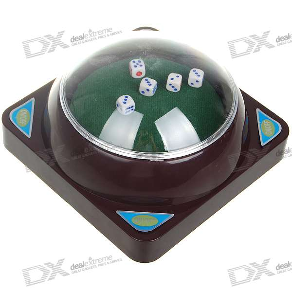 "6"" Automatic Dice Roller (5 Dices/2*AA)"