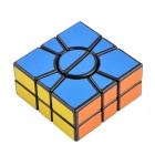 5.7*5.7*1.9cm Irregular Tuning Spring Magic Cube - Multicolored