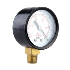 0~-30inHg 0~-1bar Air Pressure Gauge Meter Vacuum Manometer