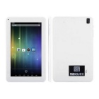 "ATM7029 1.3GHz Android 4.4 Quad-Core 9"" Tablet PC w/ 8GB ROM,  Dual Camera, Wi-Fi, Bluetooth - White"