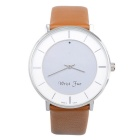 Atongm W014 Smart Bluetooth V4.0 Watch for IPHONE / Android Smartphone - Brown