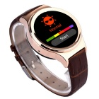 "T3 1.22"" GSM Smart Watch w/ Remote Picture, Pedometer, Sleep Tracker for Android Phones - Brown"