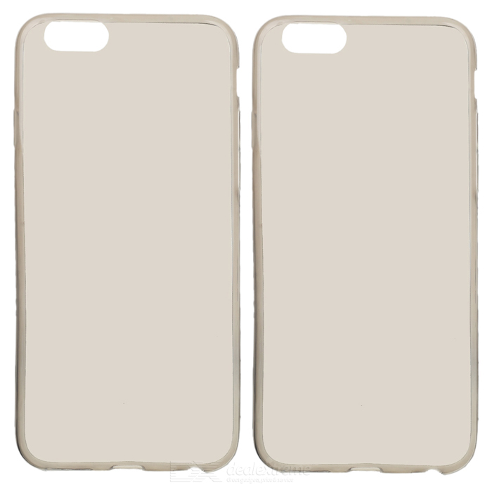 S-What Back Case Cover for IPHONE 6 / 6S - Translucent Black (2PCS)