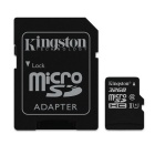 Kinston Digital 32GB microSDHC Class 10 UHS-I 45MB/s Read Card with SD Adapter (SDC10G2/32GB)