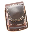 Leather Belt Holder for Lighters (Brown)