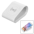 Universal Qi Standard Silicone Anti-Slip Charging Pad Wireless Charger - White