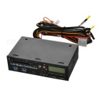 Multifunction Front Drive Panel PCI-E to USB 3.0 Carder Reader + SATA + Dual Temperature Control LCD