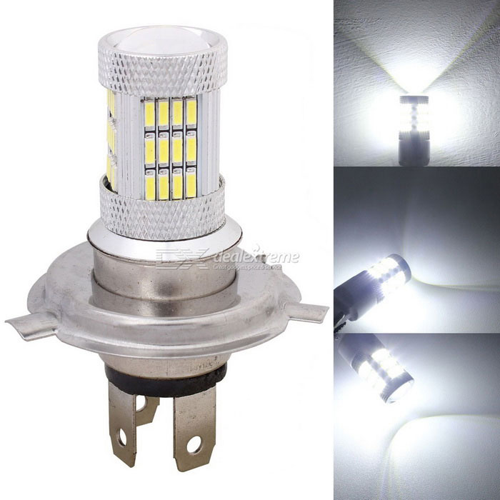 MZ H4 P43T 10W Car LED Daytime Running Light White 6500K 540lm 54-SMD