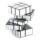 Irregular PVC Sticker Magic IQ Cube - Fluorescent Silver