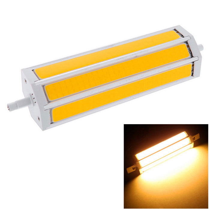 R7S 25W 189mm 3-COB 2200lm 3000K Warm White LED Light Bulb