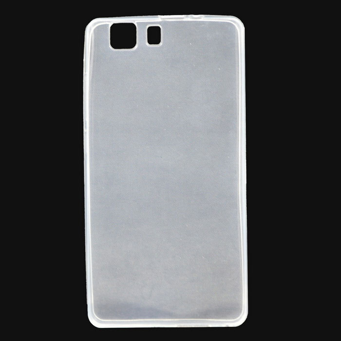 Protective TPU Back Case Cover for DOOGEE X5 - Translucent White
