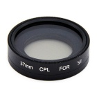 37mm CPL Circular Polarized Lens Filter for Xiaoyi Sports Camera - Black