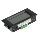 LCD DC 100A Digital Display LED Panel Ammeter / AMP Ampere Meter with 100A/75mV Shunt Resistor