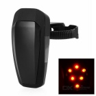 Light Sensitive Automatically Light Up / Shutdown 10-LED Fast Strobe Bike Taillight Red Light