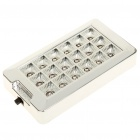 18-LED Interior Car Roof White Lamp - Silver (DC 12V)