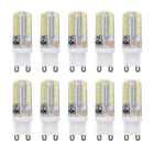 G9 4W LED Corn Bulb Cold White Light 6000K 210lm 64-SMD 3014 (AC 220V / 10PCS)