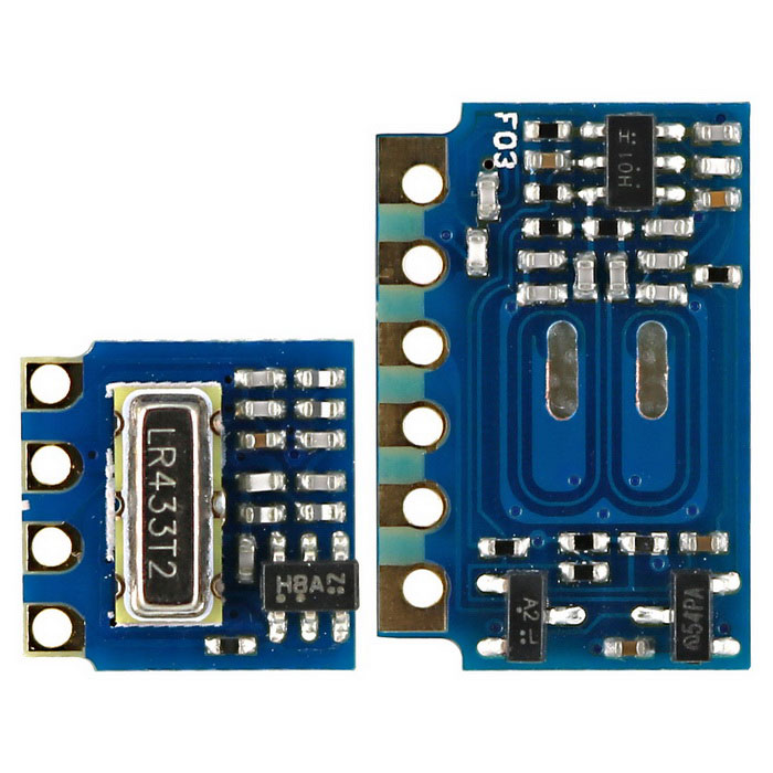 Mini 3.3V RF Transmitter Receiver 433MHz for Arduino / 3.3V MCU